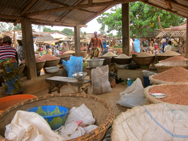 Market Day – Grains, Beans, Rice