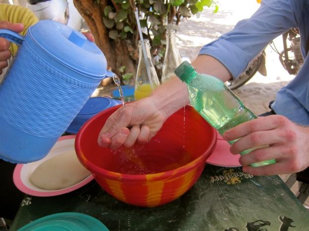 ignam pile - hand wash