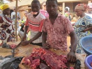 Beef Butcher Avrankou Market