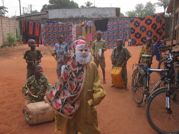 Caroling in Benin 1