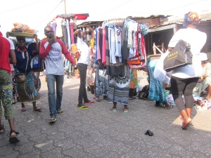 Dantokpa Market – Mobile Clothing Boutique