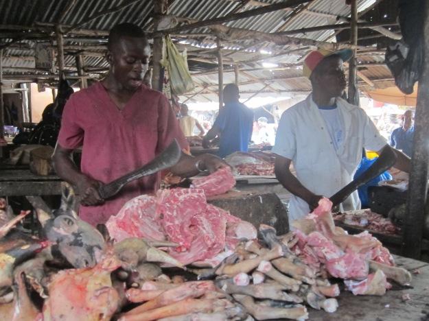 Dantokpa Market – Butcher