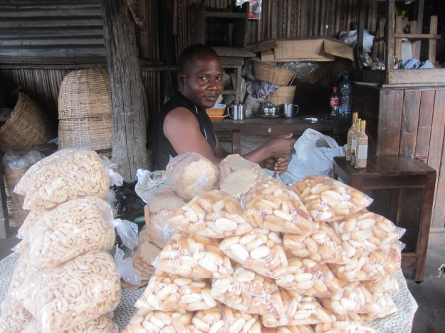 Dantokpa Market – Crackers and Peanuts