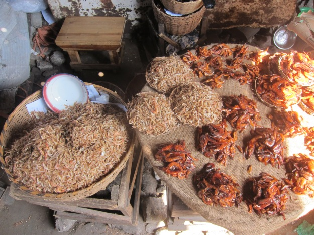 Dantokpa Market – Dried and Smoked Shrimp