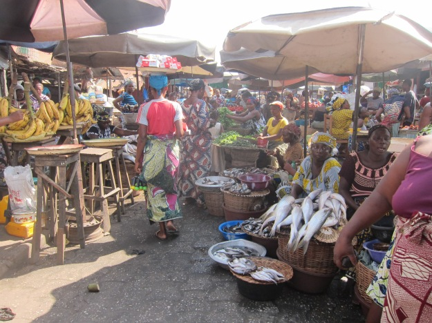 Dantokpa Market – Fish and Vegetables