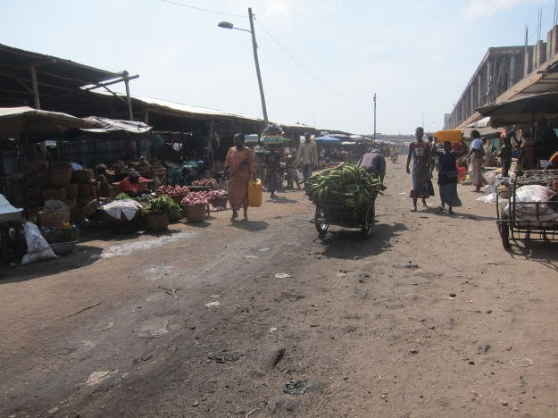 Dantokpa Market – Plantains on the Move