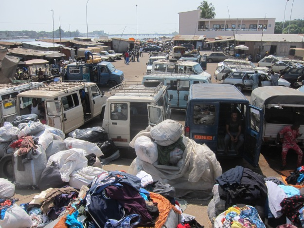 Dantokpa Market – Vans and Used Clothing