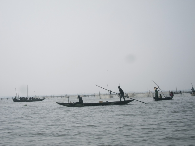 Lake Nokoué – Fish Farming