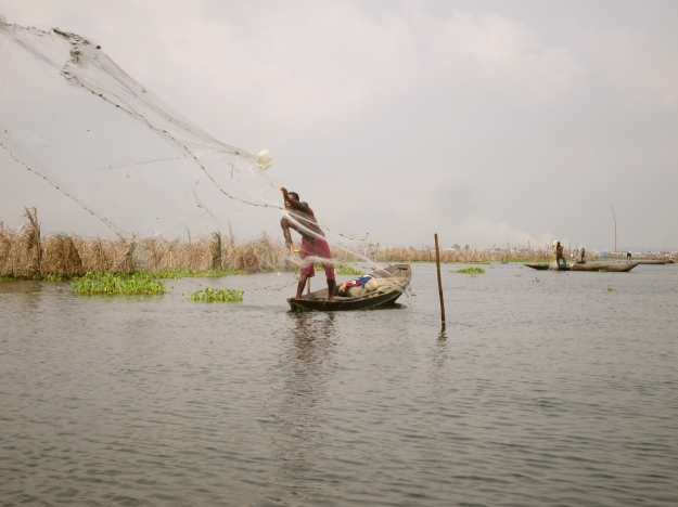 Lake Nokoué – Fishing with Net