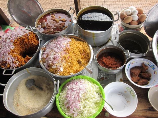 Lunch Choices: Ghana
