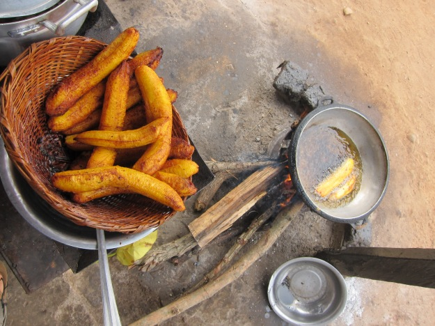 Street Snack: Fried Plantains