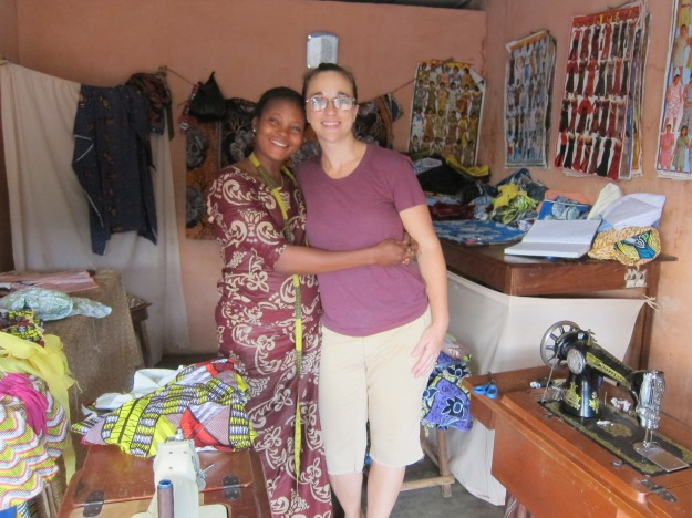 Jen with Tailor