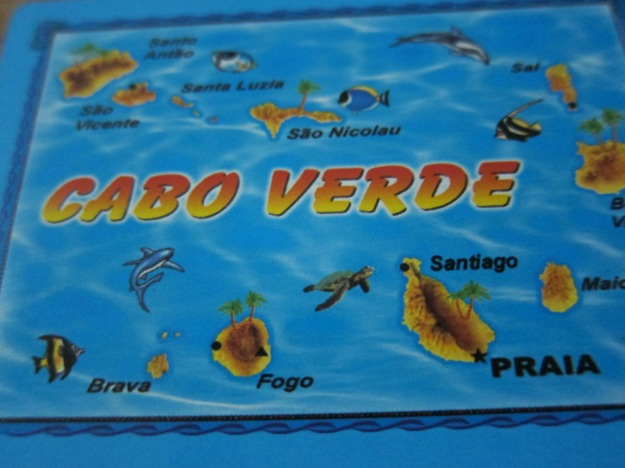 Cape Verde Cards Map